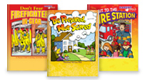 Click here to see our fire safety activity books..