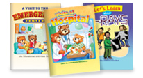 Click here to see our hospital-themed activity books.