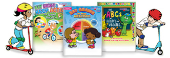 Click here to view our nutrition & fitness activity books.