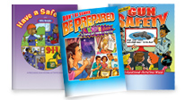 Click Here to see our safety for kids activity books.