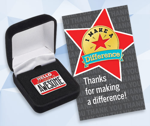 Employee Recognition Lapel Pins, including our years of service lapel pin series.