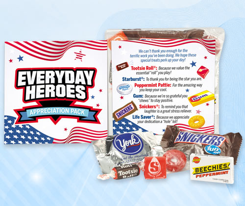 Employee Recognition and Appreciation Treat Packs