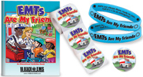 educational tools to introduce children to what emts do and how they help people, tips for calling 9-1-1 and staying safe.