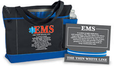 The Thin White Line gifts, symbol of EMS dedication. Honor EMS heroes