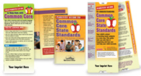 Guides enable parents to help children succeed with the New Common Core State Standards, learning about common core.