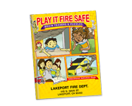 Educational Activities Books and More Teach Kids To Be Proactive About Fire Safety and fire prevention.