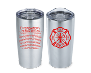 Fire prevention and safety tumblers, water bottles and more
