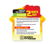 Fire prevention and safety educational tools