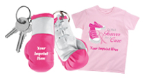 Click here to see our Breast Cancer Fundraising Custom Imprinted Products