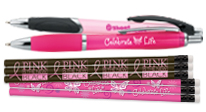 Click here to see our Breast Cancer Fundraising pens & pencils