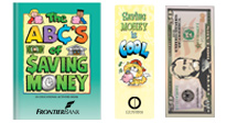 teach the value of smart saving and spending with our educational activity books and bookmarks