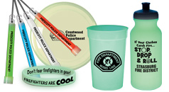 Fire prevention and safety glow in the dark safety products