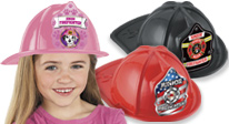 Exclusive Fire Hats Available In Red, Black & Pink