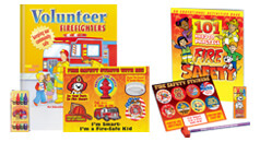 Convenient fire safety Value packs and Kits Come Pre-Packaged For Easy Distribution