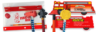 Incentives To Keep The Focus On Fire Safety.  Great fire safety products For School Visits.