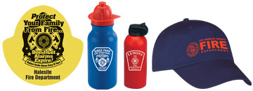 Place Your Message On These Popular fire safety Gifts And Hand Them Out At Open Houses & Community Events