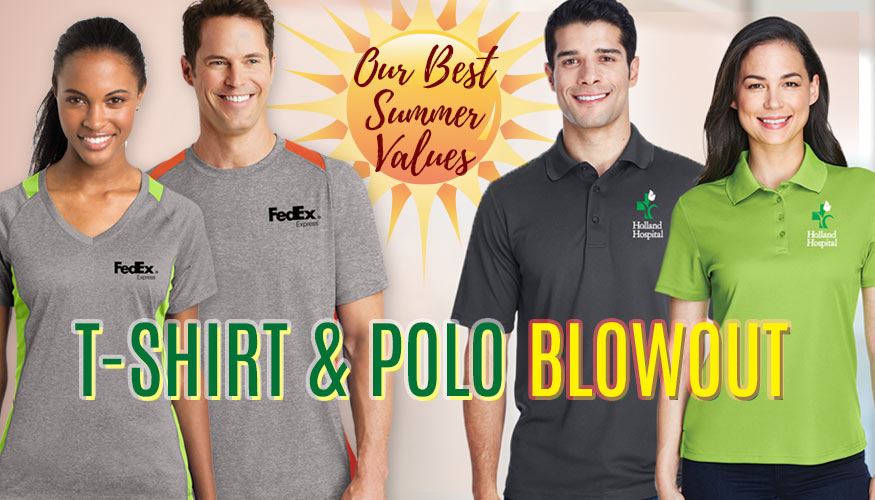 T-Shirts and Polos Blowout