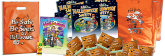 View our Halloween Reflective Trick-Or-Treat Bags