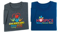 View our apparel for Hospice & Home Care Month