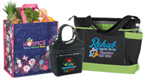 View our bags, totes and coolers for Hospice & Home Care Month