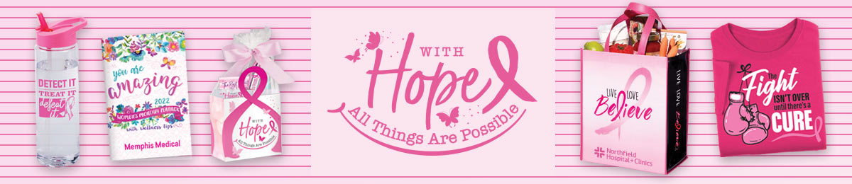 Breast cancer awareness pens from Positive Promotions