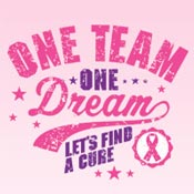One Team One Dream Let's Find A Cure Theme from Positive Promotions