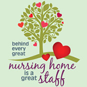 Behind Every Great Nursing Home Is A Great Staff Theme from Positive Promotions