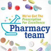 Pharmacy Team We've Got The Prescription For Excellence Theme from Positive Promotions