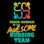 Proud Member Of An Awesome Nursing Team Theme from Positive Promotions