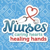 Nurses Caring Hearts Healing Hands Theme from Positive Promotions