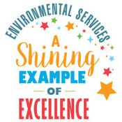 Environmental Services A Shining Example Of Excellence Theme from Positive Promotions