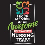 Proud Member Of An Awesome Emergency Nursing Team Theme from Positive Promotions