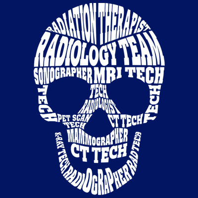 Radiology Team Word Skull Theme from Positive Promotions