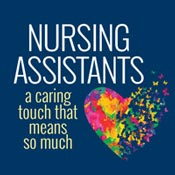 Nursing Assistants A Caring Touch That Means So Much Theme from Positive Promotions