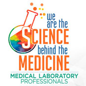 Medical Laboratory Professionals We Are The Science Behind The Medicine Theme from Positive Promotions