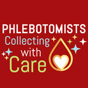 Phlebotomists Collecting With Care Theme from Positive Promotions