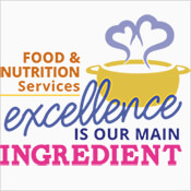 Food And Nutrition Services Excellence Is Our Main Ingredient Theme from Positive Promotions