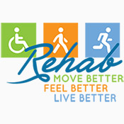 Rehab Move Better Feel Better Live Better Theme from Positive Promotions