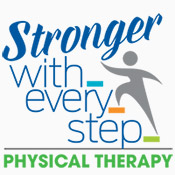 Physical Therapy Stronger With Every Step Theme from Positive Promotions