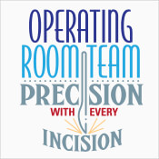 Operating Room Team Precision With Every Incision Theme from Positive Promotions