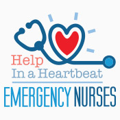 Emergency Nurses Help In A Heartbeat Theme from Positive Promotions
