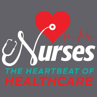 Nurses The Heartbeat Of Healthcare Theme from Positive Promotions