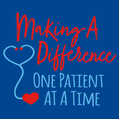 Making A Difference One Patient At A Time Theme from Positive Promotions