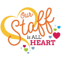 Our Staff Is All Heart Theme from Positive Promotions