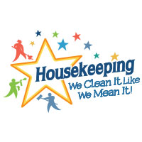 Housekeeping We Clean It Like We Mean It Theme from Positive Promotions