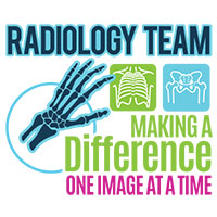 Radiology Team Making A Difference One Image At A Time Theme from Positive Promotions