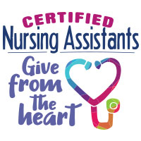 Certified Nursing Assistants Give From The Heart Theme from Positive Promotions