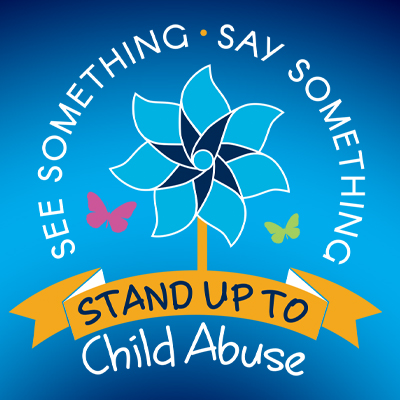 See Something Say Something Stand Up To Child Abuse Theme from Positive Promotions