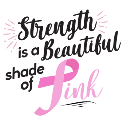Strength Is A Beautiful Shade Of Pink Theme from Positive Promotions