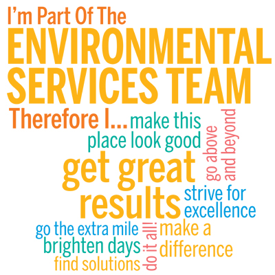 I'm Part Of The Environmental Services Team Therefore I... Theme from Positive Promotions